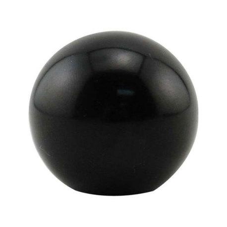 Round Faucet Knob - Black