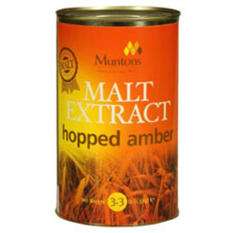 Muntons Hopped Amber Liquid Malt Extract, 3.3 lbs.