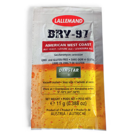 Danstar West Coast IPA Yeast BRY-97