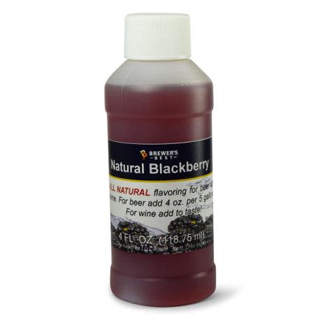 Blackberry Natural Flavoring, 4 fl oz.