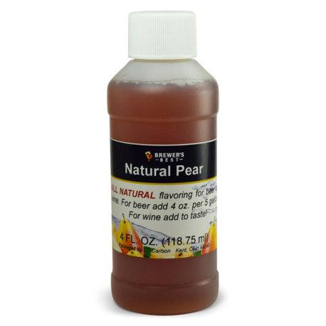 Pear Natural Flavoring, 4 fl oz.