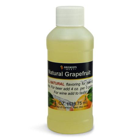Grapefruit Natural Flavoring, 4 fl oz.