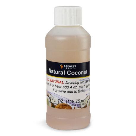 Coconut Natural Flavoring, 4 fl oz.