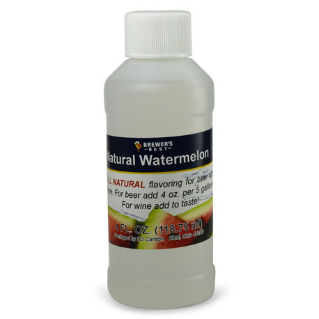 Watermelon Natural Flavoring, 4 fl oz.