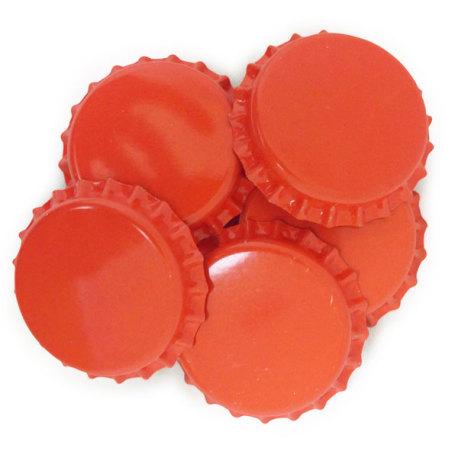 Orange Crown Caps O2 Barrier, 144 ct.