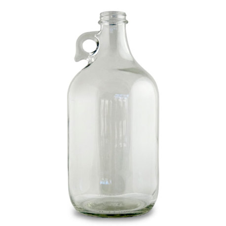 1/2 Gallon Clear Growler