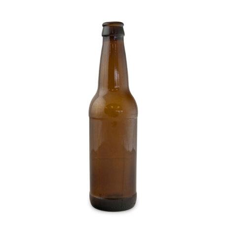 12 oz. Brown Beer Bottles - Case of 24
