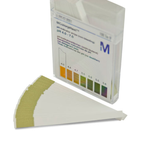Colorfast pH Strips (4-7 Range), 100 strips