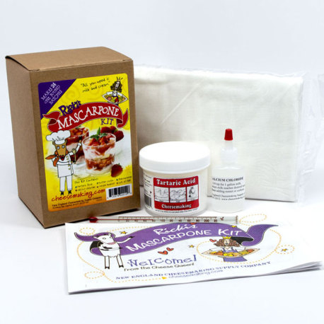 Ricki's Mascarpone Cheese Kit