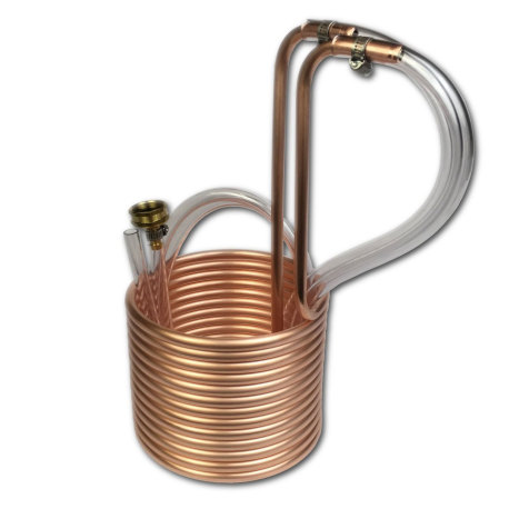 Standard Immersion Wort Chiller, 25' x 3/8""