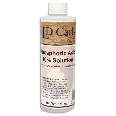 Phosphoric Acid - 10% Solution,  8 oz.