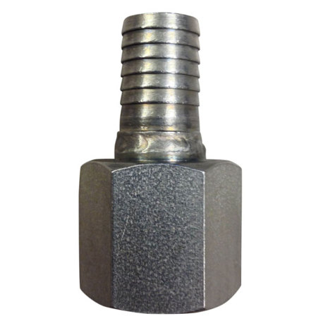 "1/2"" FPT x 1/2"" Barb - Stainless"