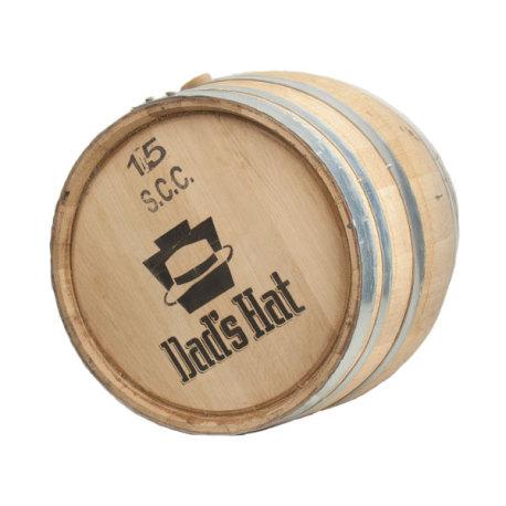 Dad's Hat Rye Whiskey Barrel, 15 gal