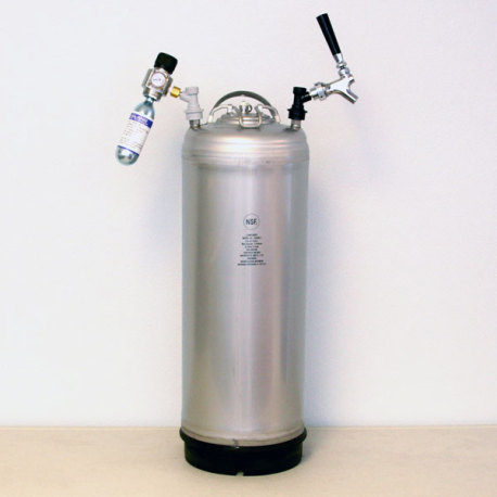 5 Gallon Turnkey Wine Kegging System