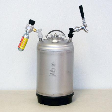 3 Gallon Portable Beer Kegging Setup