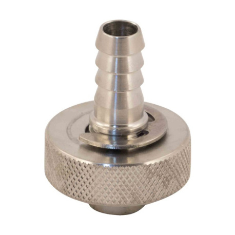 SS Brewtech Hose Barb (3/8 in. FPT X 1/2 in. Knurl