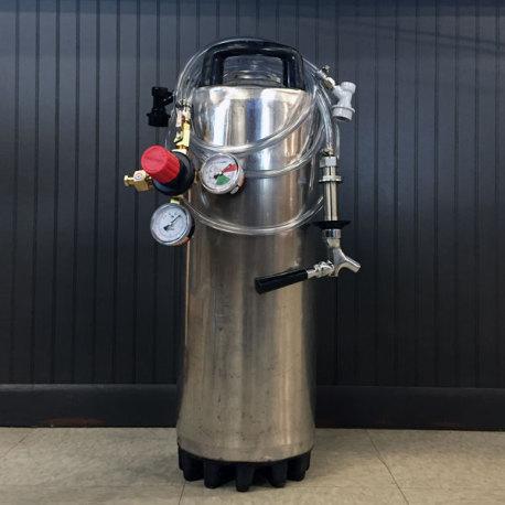 Kegerator Homebrew Kegging System - Used Keg
