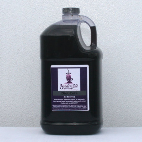 Diet Cola Soda Syrup, 1 Gallon