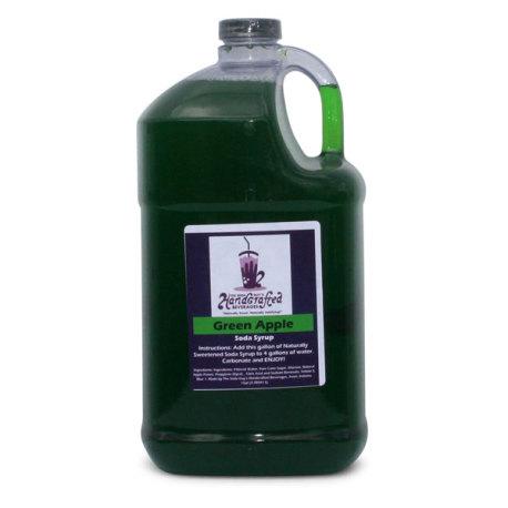 Green Apple Soda Syrup, 1 Gallon