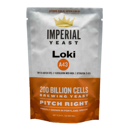 Imperial Yeast A43 Loki - Seasonal Strain