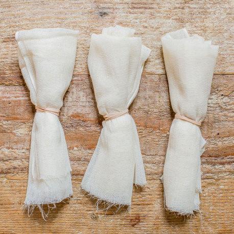 Cotton Covers for Kombucha Fermenting Jar - 3 Pack
