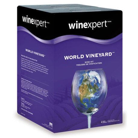 Australian Cabernet Sauvignon with Grape Skins Wine Kit - Winexpert World Vineyard
