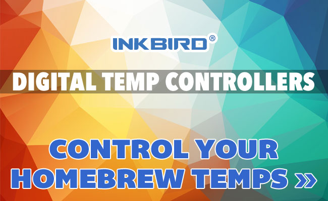InkBird Digital Temp Controllers for Homebrew Beer Brewing