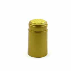 Gold Shrink Caps, 30 Count