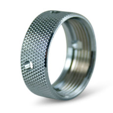 Chrome Coupling Nut for Faucet