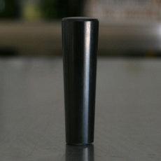 Straight Faucet Knob - Black_2