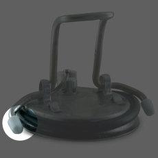 Keg Lid Handle Cap Replacement Closeup
