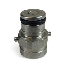Pin Lock Tank Plug Assembly - Gas (Firestone A/R and John Wood RA/RC)