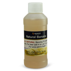 Banana Natural Flavoring, 4 fl oz.