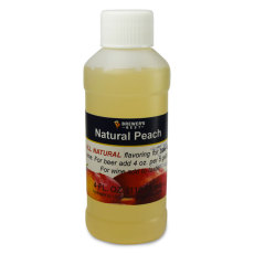 Peach Natural Flavoring, 4 fl oz.