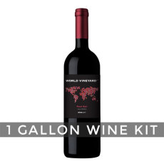 California Pinot Noir, World Vineyard 1 Gallon Wine Kit