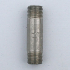 1/2 in. X 3 in. Threaded NPT SS Nipple