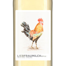 Liebfraumilch Self Adhesive Wine Labels, pkg of 30