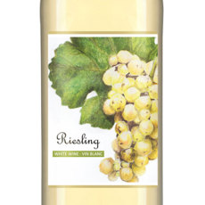 Riesling Self Adhesive Wine Labels, pkg of 30