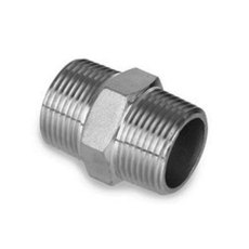 1/2 in. Stainless Steel Hex Nipple