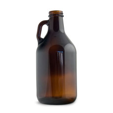 32 oz. Amber Growler