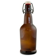 EZ Cap Bottles, Amber (Case of 12)