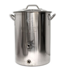Brewers Best 8 Gallon Brew Kettle with 2 Ports