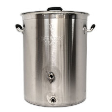 Brewers BEAST 8 Gal Brew Kettle with 2 Ports and Tri-clad Bottom