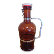 2 Liter Growler - Metal Handle