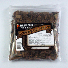 Cognac Barrel Oak Chips, 4 oz