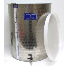 Kombucha Tank 100 Liter Stainless Steel with Dust Cover and Spigot