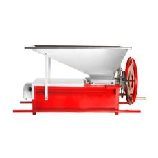 Manual Crusher/Destemmer w/Stainless Steel Hopper