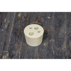 Anvil 4 Hole Stopper, #7 for Carboys