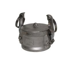 Female Camlock Cap, 1/2 in. 304 SS