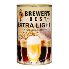 Brewer's Best Extra Light Liquid Malt Extract, 3.3 lbs